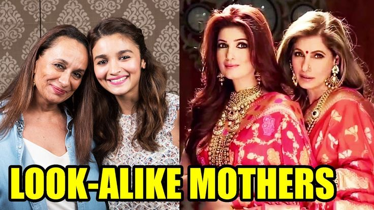 10 Bollywood Actresses Who Look Alike Their Mothers
