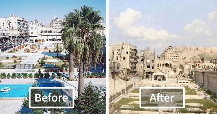 look how beautiful Syria looked before the war... inshallah Syria will soon be like that again pray for Syria in you duas please.