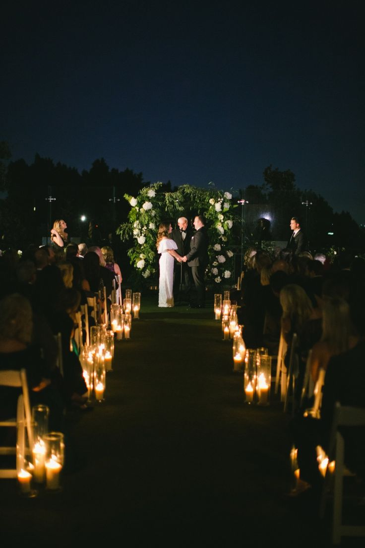 small intimate weddings southern california%0A Modern Night Wedding at the London West Hollywood