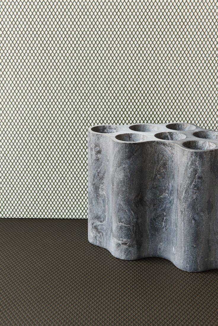 Porcelain stoneware wall/floor tiles ROMBINI CARRÈ UNI GREEN by MUTINA design Ronan & Erwan Bouroullec