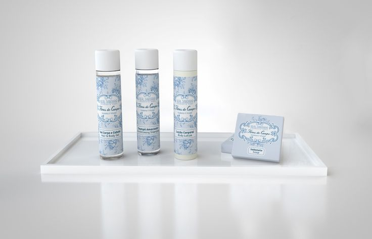 FLORES DO CAMPO, Real Saboaria amenities line available for hotels, 30ml bottles + 20g soap