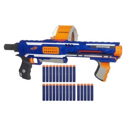 Nerf N-Strike Elite Rampage Blaster - Online Item #: 14070058 Store Item Number (DPCI): 087-11-0269 - $22.99 on sale - Reg. $28.00