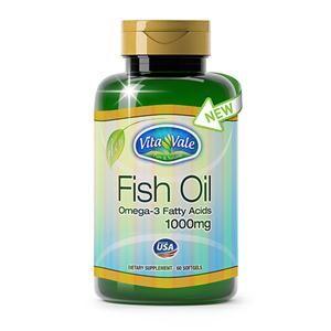 FISH OIL 60 CÁPSULAS: VITAMINAS