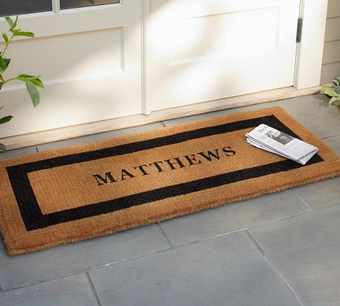 Personalized Doormat Pottery Barn Extra Large 135