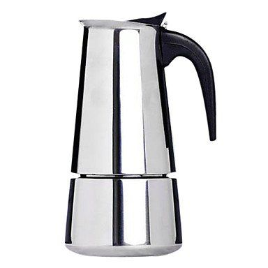 qinxi 10 oz The Modern 6-cup Coffee Percolator with Milk Frother and Garland Cup >>> Continue to the product at the image link.