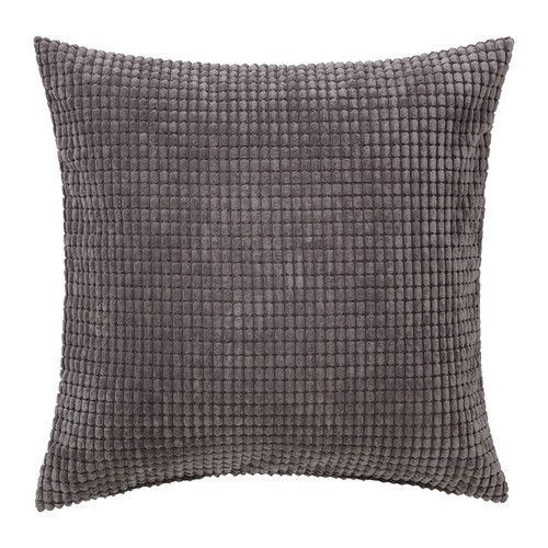 Ikea-Gullklocka-26x26-large-Cushion-Cover-Textured-Gray-Throw-Pillow-Case-Shell