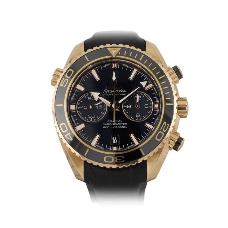 Omega Rose Gold Seamaster Planet Ocean Divers Watch http://bit.ly/1BPGHLH This is a stunning watch that no photo can do justice. Will be a few heavy hearts in the office when it leaves us!!