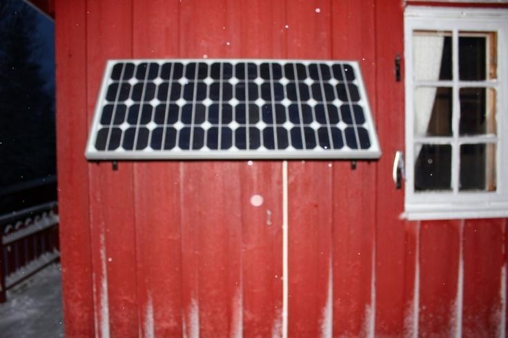 Om montering av solstrømanlegg