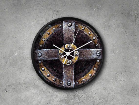 Steampunk WALL CLOCK Modern Wall Clock Art Clock by PilipArt