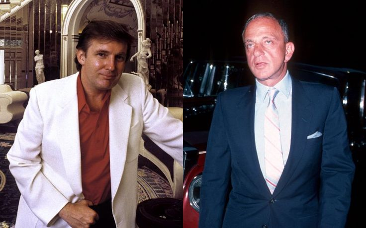 Trump's Mobbed Up, McCarthyite Mentor Roy Cohn | Donald Trump's brash and bullying style was learned at the heel of Roy Cohn, one of America's most infamous lawyers. They met at Le Club, a private disco on the Upper East Side frequented by Jackie Kennedy, Al Pacino, and Diana Ross, according to Trump ||  TheDailyBeast [gotoComments]