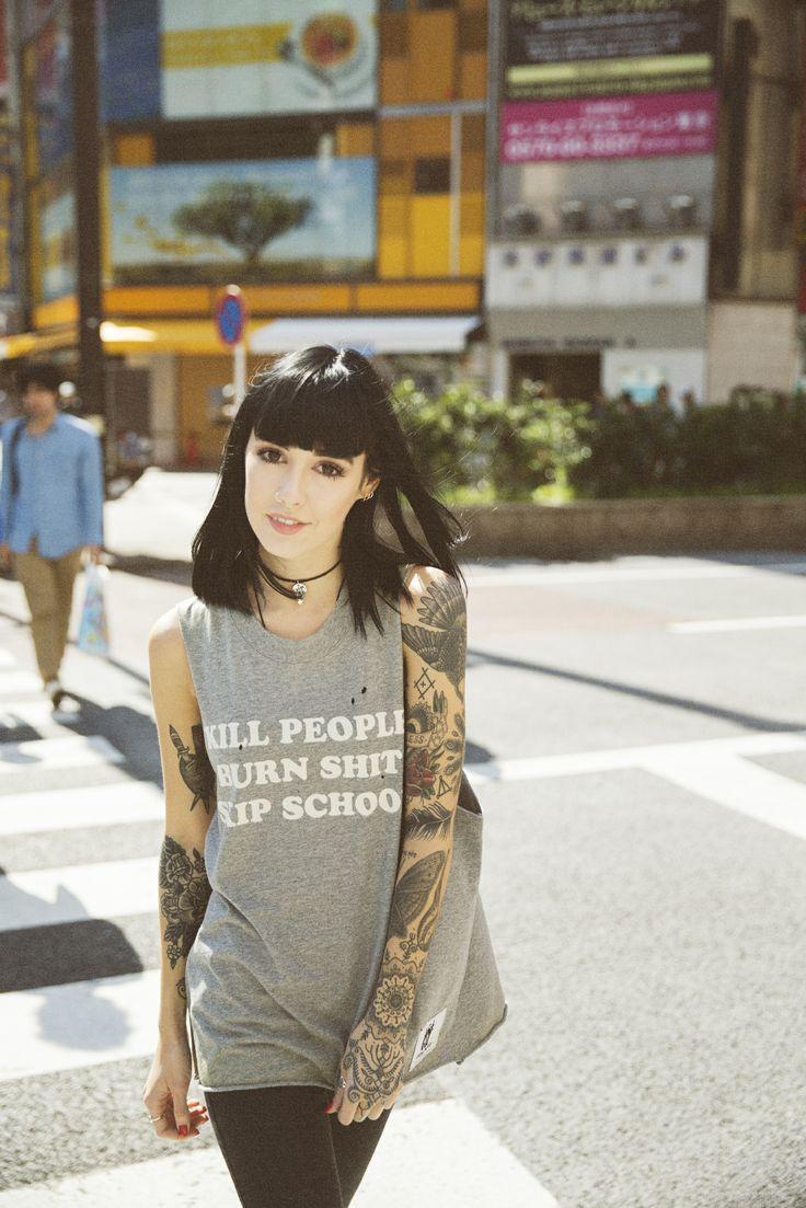 Drop Dead Clothing - Skip School  http://www.dropdead.co/search?type=product&q=skip+school