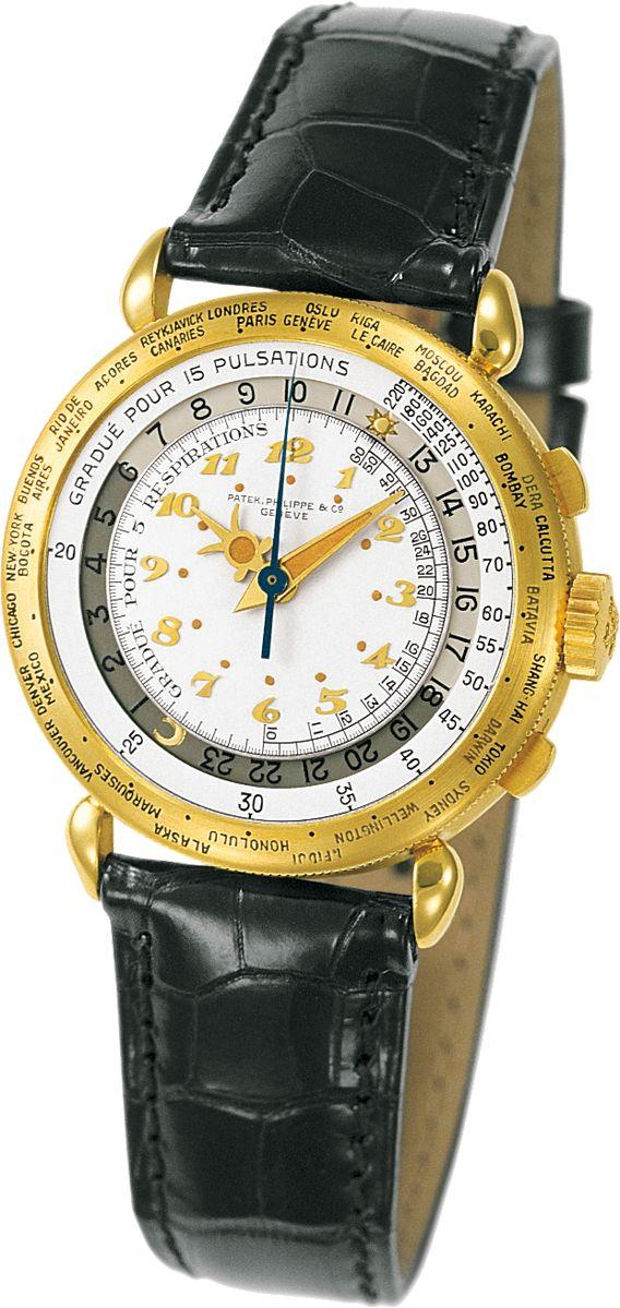 La Cote des Montres : La montre Patek Philippe Chronographe à Heure Universelle référence 5930 - Une association rare très attendue par les connaisseurs