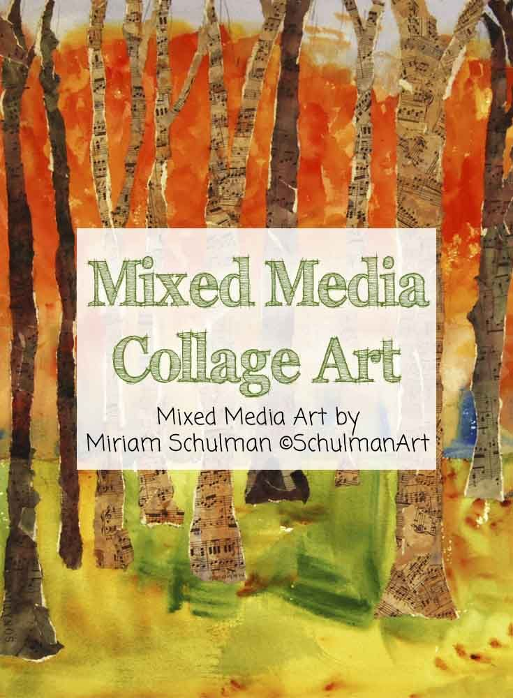 17 Best Images About Mixed Media Collage Art On Pinterest