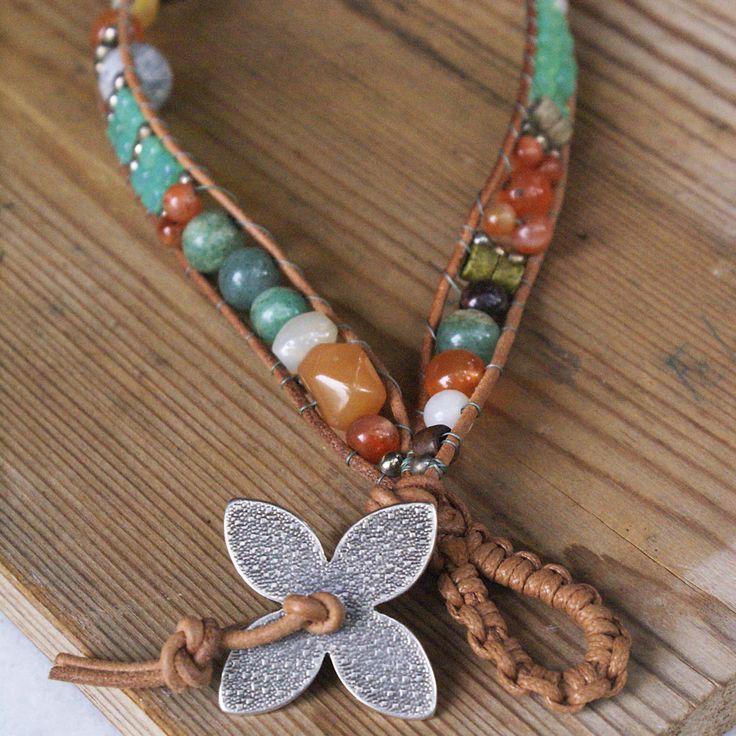 Double wrap bracelet or choker necklace...?