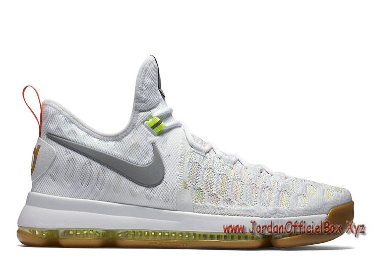 Nike KD 9 Summer Pack 843392_900 Chaussure Nike Kd 9 Pas cher pour Homme Blanc