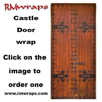 Wooden Castle Door Wrap Contact Rm Wraps Have A Question Or Issue? Need  Help Wrapping Your Product? Randy Miller Monday   Friday , 8 Am   6 Pm EST  Door ...