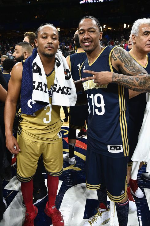 Romeo Miller and Nick Cannon - All-Star Weekend 2017 Has Arrived! See All the Celebrity Pics