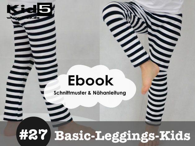 #27 Basic-Leggings-Kids eBook + Schnittmuster