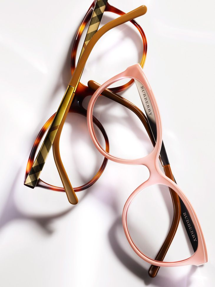 Burberry Eyewear Spark Collection. I know they're not sunglasses, but they have pretty frames.