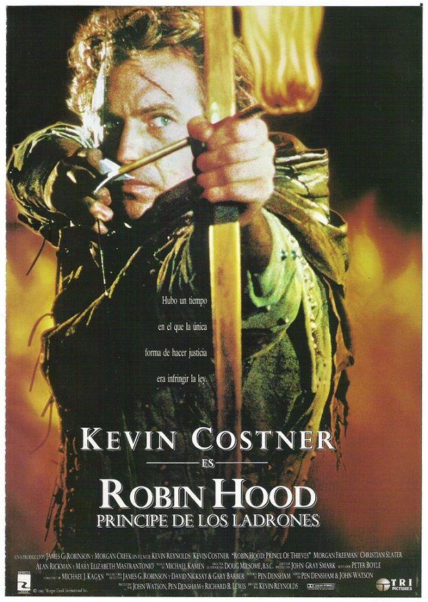 """Robin Hood: Príncipe de los ladrones (1991) """"Robin Hood: Prince of Thieves"""" de Kevin Reynolds - tt0102798"""