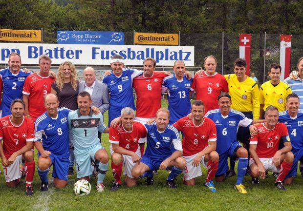 Schweizer Fussball-Legenden und internationale Stars am einzigartigen Fussball- und Volksfest in Ulrichen/VS