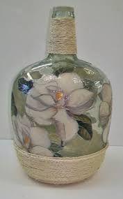 garrafas cristal decoradas - Pesquisa Google