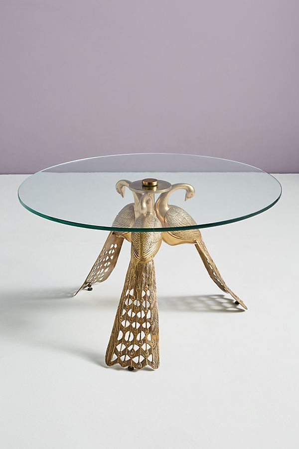 Pavo Coffee Table by Anthropologie in Brown Size: All, Tables