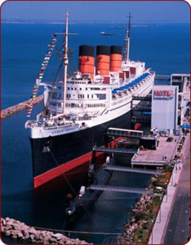 The Queen Mary  Long Beach, California