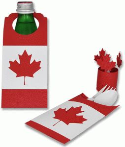 Silhouette Design Store - View Design #83487: canada day bbq decorations