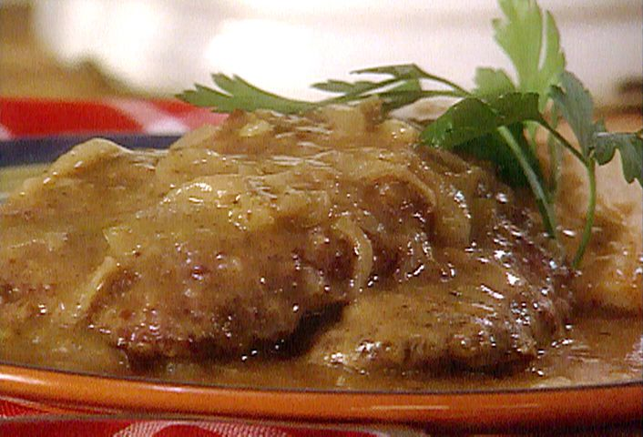 Your Man will love this! Bubba's Country-Fried Steak and Gravy- Paula Deen from FoodNetwork.com
