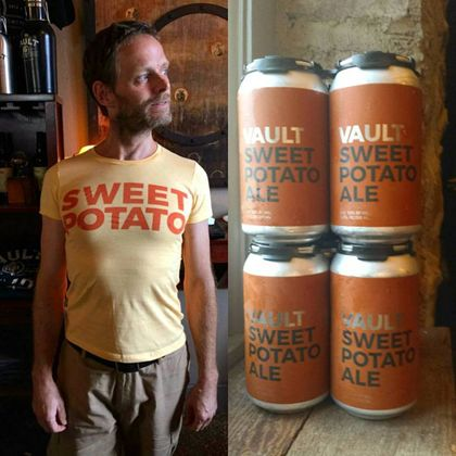 mybeerbuzz.com - Bringing Good Beers & Good People Together...: Vault Brewing - Sweet Potato Ale Nitro Can Release...