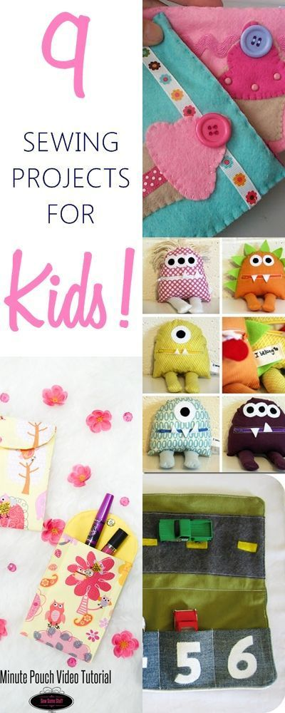 9 Best And Simplest Beginner S Sewing Projects Kids Diy Crafts