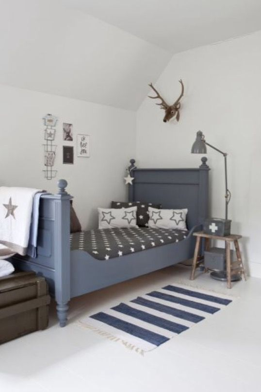 "This boys bedroom is from our feature ""Statement of Style"""