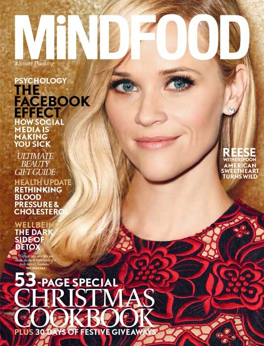 Our special December Issue of MiNDFOOD Magazine, with Reese Witherspoon on the cover, is on sale now! http://www.mindfood.com/article/take-a-look-inside-our-december-issue-of-mindfood/