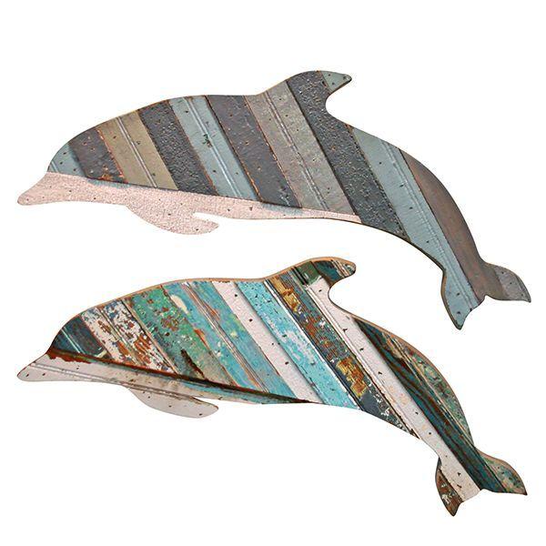 Recycled Flipper Wall Art: Beach Decor, Coastal Decor, Nautical Decor, Tropical Decor, Luxury Beach Cottage Decor