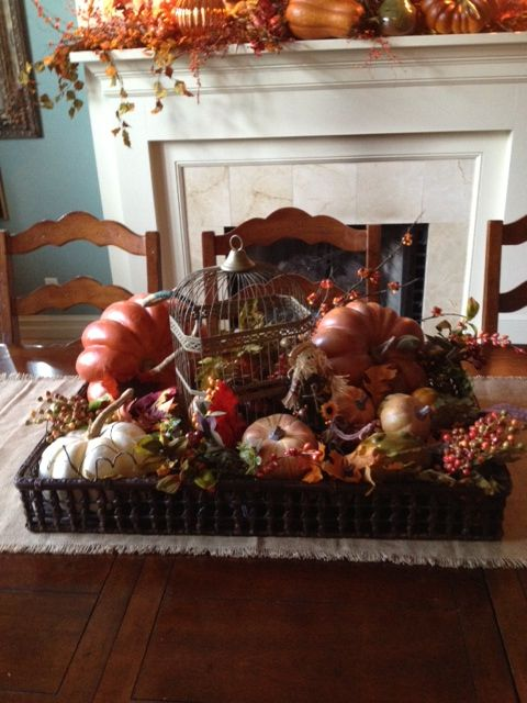 Dining Table Decoration For Fall