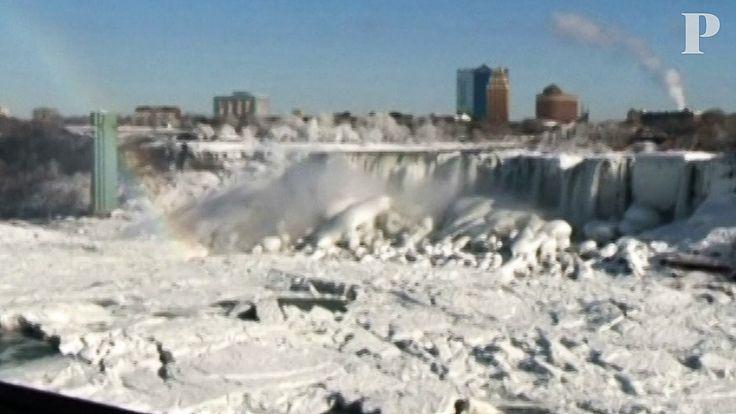 As cataratas do Niagara em estado sólido [Vídeo]