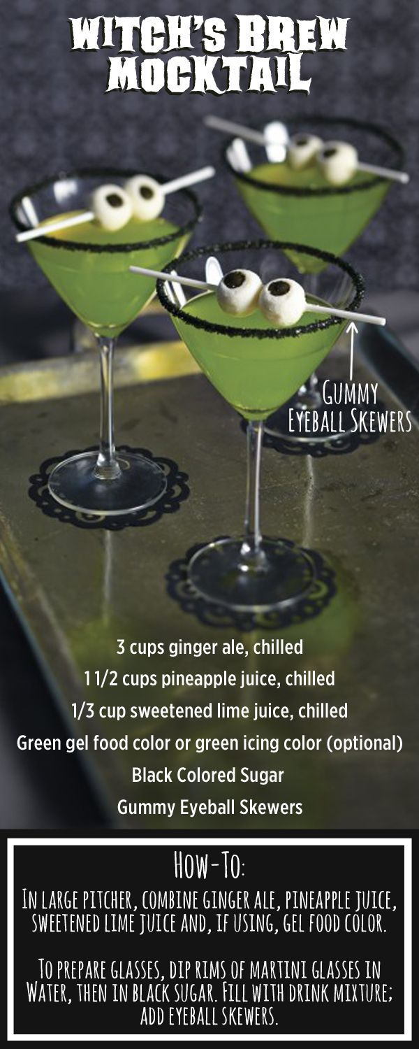 Mix up this easy potion for a Halloween Party!                                  …