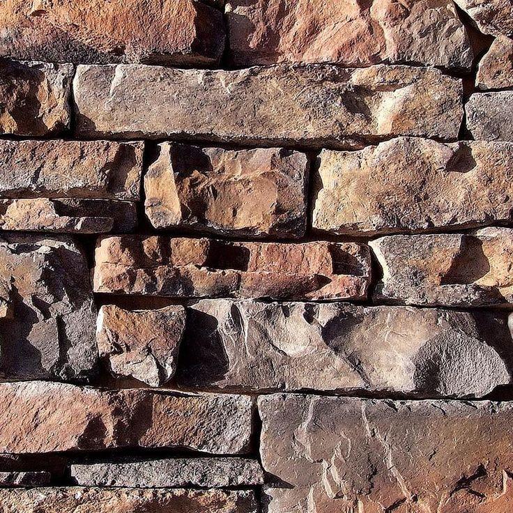Coronado Stone Products Ledgestone 13.5-sq ft Copper Canyon Manufactured Stone Veneer