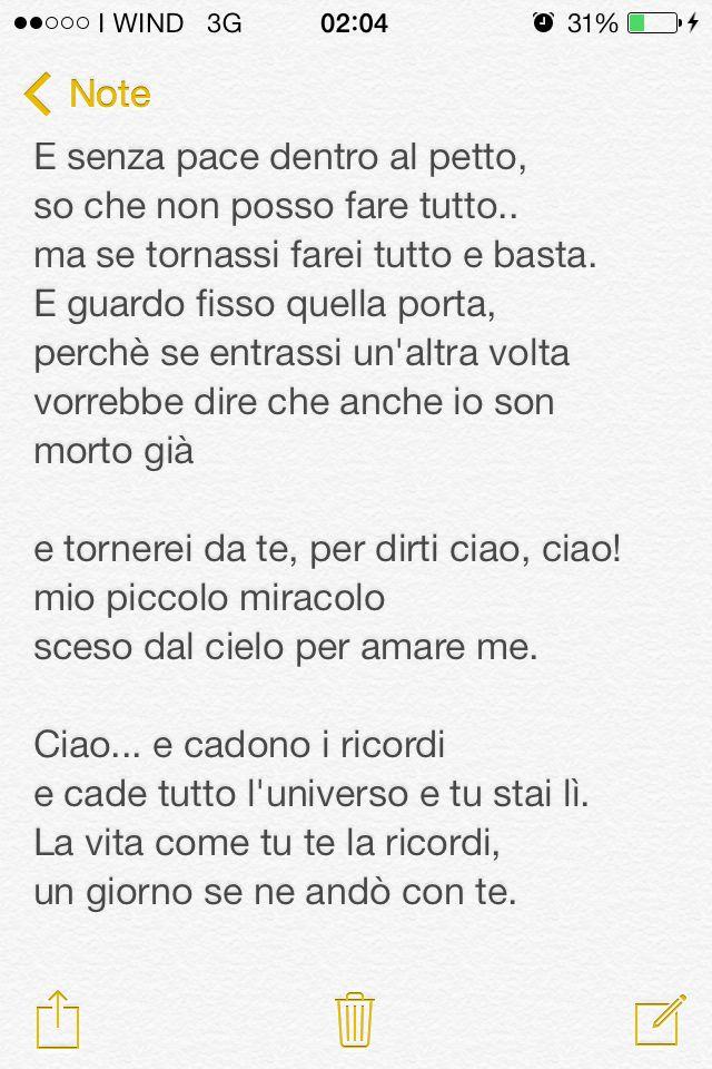 Tiziano Ferro, per dirti ciao parte 4