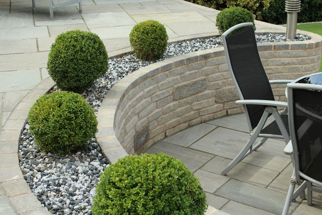 Beautiful Marshalls Walled Area Beautiful Gardens Garden Table And Chairs Small Garden