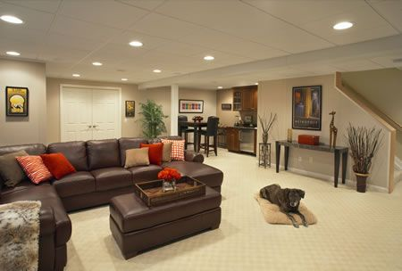 Home and Garden Design Idea's | Idea | Basement Finishing Ideas