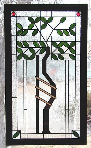 Frank Lloyd Wright Stained Glass Tree Of Life To