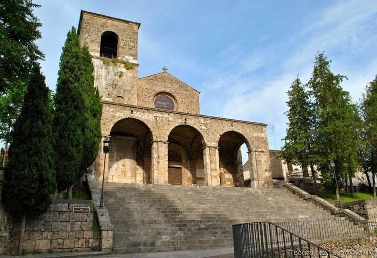 #Aquino (Frosinone), #Lazio - Chiesa romanica della Madonna della Libera - Photo G. Garofoli (05-2010) - © All rights reserved - Tesori del Lazio
