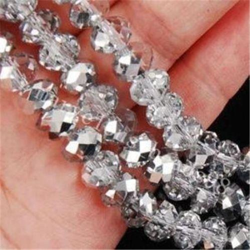 72pcs-Gray-Swarovski-Crystal-Loose-Bead-8mm-QF1217