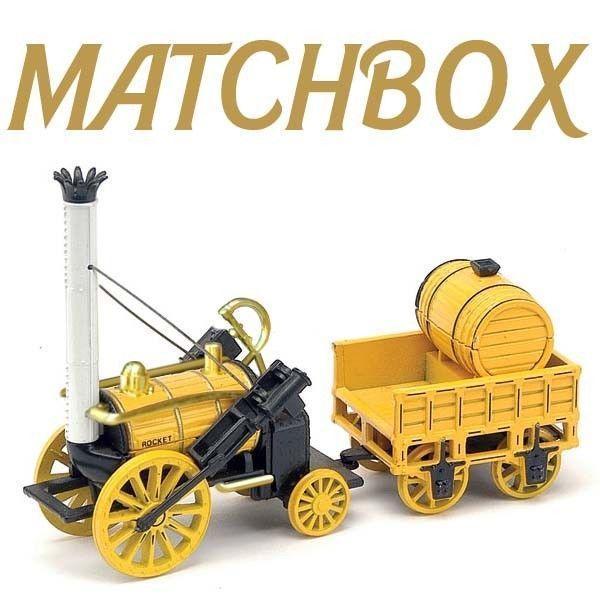 Matchbox 1987 Stephensons Rocket Train engine Y-12 MOY Christmas Birthday BNIB
