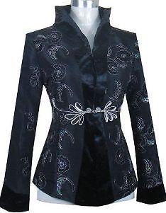 Chinese style Women's evening jacket Sz:8-10-12-14-16   eBay