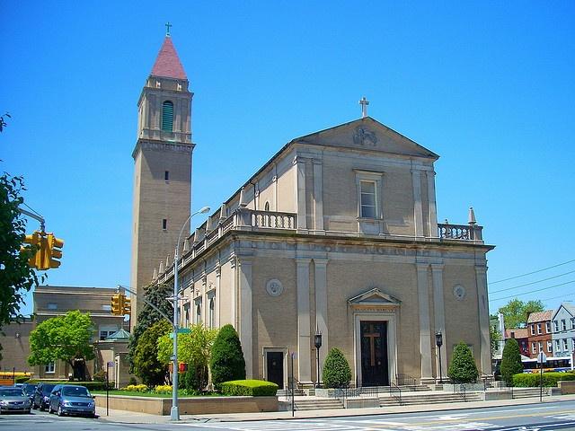 St Mark's Roman Catholic Church in Brooklyn