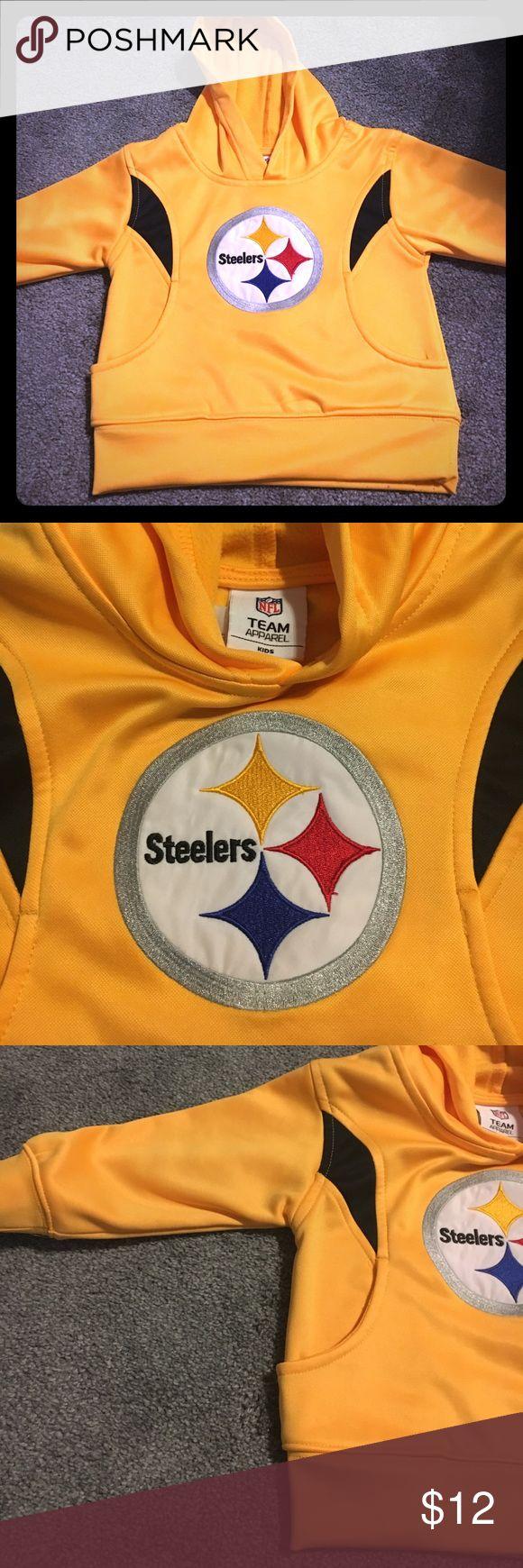 24 Month steeler hoodie Excellent condition NFL Shirts & Tops Sweatshirts & Hoodies