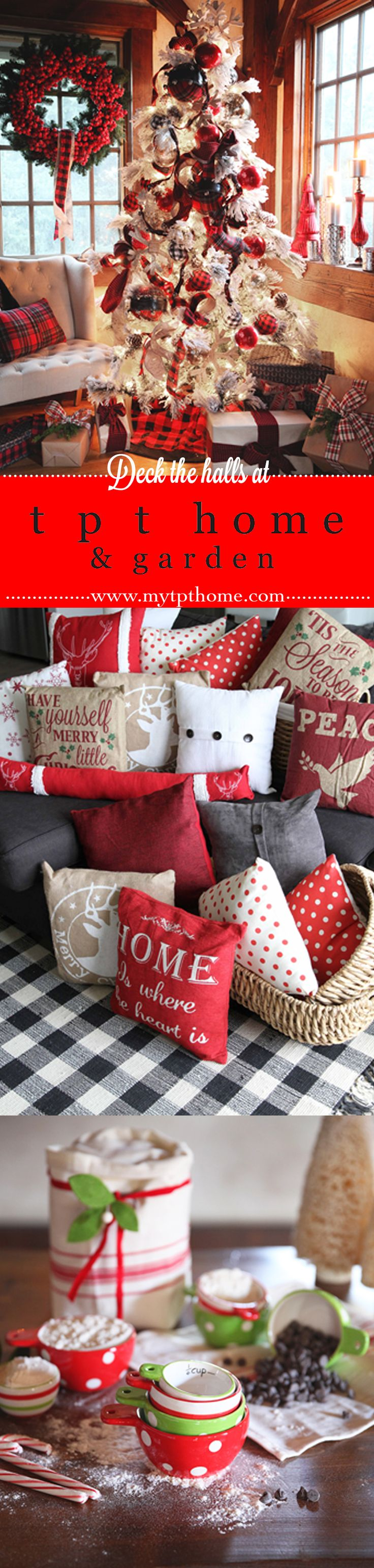 It's beginning to look a lot like Christmas! Shop for your holiday home décor must-haves at tpt home!